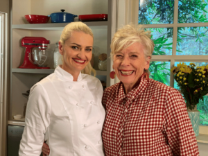 Maggie Beer and Amanda Orchard photo