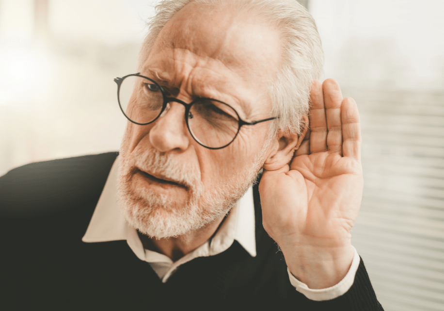 hearing loss for aged care patients